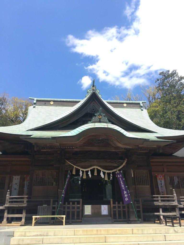 大倉山「師岡熊野神社」、ゆったり広々。御朱印もあるようです。